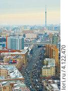 Купить «Москва. Третье транспортное кольцо», фото № 4122470, снято 14 декабря 2012 г. (c) Зобков Георгий / Фотобанк Лори