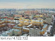 Купить «Москва. Район Хорошевский», фото № 4122722, снято 14 декабря 2012 г. (c) Зобков Георгий / Фотобанк Лори