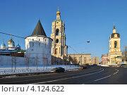 Купить «Новоспасский монастырь, Москва», эксклюзивное фото № 4124622, снято 16 декабря 2012 г. (c) lana1501 / Фотобанк Лори