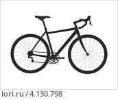 Велосипед. Стоковая иллюстрация, иллюстратор Михаил Алешин / Фотобанк Лори