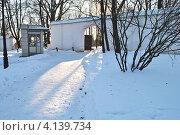 Купить «Коломенское, Москва», эксклюзивное фото № 4139734, снято 12 декабря 2012 г. (c) lana1501 / Фотобанк Лори