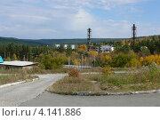Иркутск (мкр. Зеленый, вид на котельную) (2012 год). Стоковое фото, фотограф Алина Сысоева / Фотобанк Лори