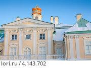 Купить «Фасад Большого Меншиковского дворца», фото № 4143702, снято 16 декабря 2012 г. (c) Сергей Дубров / Фотобанк Лори