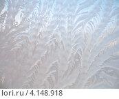 Купить «Морозные узоры на окне», фото № 4148918, снято 31 января 2012 г. (c) Алла / Фотобанк Лори