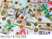 Купить «Монеты и банкноты», фото № 4152902, снято 25 ноября 2012 г. (c) Mikhail Starodubov / Фотобанк Лори
