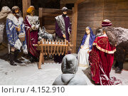 Купить «Рождественский вертеп», фото № 4152910, снято 24 декабря 2012 г. (c) Алексас Кведорас / Фотобанк Лори