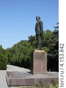 Купить «Памятник Владимиру Ленину. Евпатория», эксклюзивное фото № 4153842, снято 14 сентября 2012 г. (c) Free Wind / Фотобанк Лори