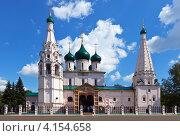Купить «Церковь Ильи Пророка в Ярославле летом», фото № 4154658, снято 28 июля 2012 г. (c) Яков Филимонов / Фотобанк Лори