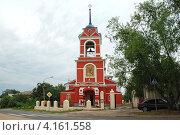 Купить «Церковь Флора и Лавра в Кашире», эксклюзивное фото № 4161558, снято 2 июля 2011 г. (c) lana1501 / Фотобанк Лори