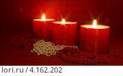 Пламя свечи. Стоковое фото, фотограф Шашина Анна / Фотобанк Лори