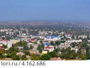 Купить «Вид сверху на город Керчь, Крым, Украина», фото № 4162686, снято 30 сентября 2012 г. (c) Анна Мартынова / Фотобанк Лори