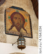 Купить «Украшение фасада православной церкви», фото № 4164034, снято 28 марта 2012 г. (c) Владимир Приземлин / Фотобанк Лори