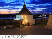 Тайницкая проездная башня (казань, кремль) (2012 год). Редакционное фото, фотограф Евгений Яковлев / Фотобанк Лори