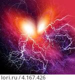 Купить «Космическое пространство», иллюстрация № 4167426 (c) ElenArt / Фотобанк Лори