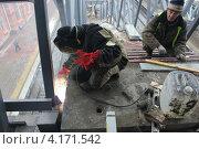 Сварочные работы. Стоковое фото, фотограф Роза Ибрагимова / Фотобанк Лори