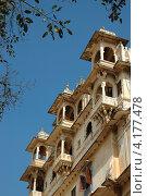 Городской дворец Удайпура, Раджастан, Индия (2012 год). Стоковое фото, фотограф крижевская юлия валерьевна / Фотобанк Лори