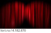 Купить «Шторы открывающиеся, белый фон», видеоролик № 4182870, снято 8 ноября 2012 г. (c) Альбина Типляшина / Фотобанк Лори