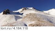 Горные склоны под снегом. Стоковое фото, фотограф Антон Жигаев / Фотобанк Лори