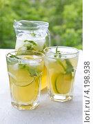 Домашний лимонад. Стоковое фото, фотограф Виктория Резниченко / Фотобанк Лори
