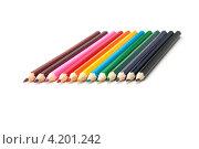 Цветные карандаши. Стоковое фото, фотограф Евгений Заржицкий / Фотобанк Лори