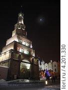 Башня Сююмбике, Казань (2012 год). Стоковое фото, фотограф Светлана Першенкова / Фотобанк Лори