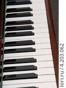Клавиши пианино. Стоковое фото, фотограф Shlomo Polonsky / Фотобанк Лори