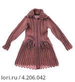 Купить «Трикотажное платье», фото № 4206042, снято 18 января 2013 г. (c) Игорь Веснинов / Фотобанк Лори