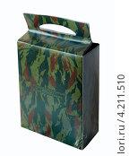 Купить «Индивидуальный рацион питания в картонной коробке», эксклюзивное фото № 4211510, снято 16 декабря 2012 г. (c) Анатолий Матвейчук / Фотобанк Лори