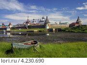 Соловецкий монастырь (2008 год). Редакционное фото, фотограф Алексей Воронцов / Фотобанк Лори
