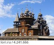 Церкви Кижей (2012 год). Редакционное фото, фотограф Galina Vydryakova / Фотобанк Лори