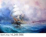 Морской бриз. Стоковое фото, фотограф Якименко Сергей / Фотобанк Лори