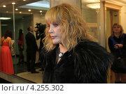 Алла Борисовна Пугачева в Кремле (2012 год). Редакционное фото, фотограф Виктор Егоров / Фотобанк Лори