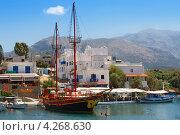 Гавань Сисси. Крит. Греция (2011 год). Стоковое фото, фотограф Andrei Nekrassov / Фотобанк Лори