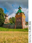 Пюхтицкий монастырь. Эстония (2009 год). Стоковое фото, фотограф Andrei Nekrassov / Фотобанк Лори