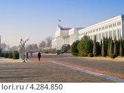 Купить «Здание сената и сквер», фото № 4284850, снято 18 июля 2000 г. (c) Parmenov Pavel / Фотобанк Лори