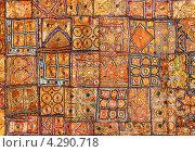 Индийская ткань. Стоковое фото, фотограф Михаил Коханчиков / Фотобанк Лори
