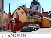 Купить «Стокгольм, Швеция. Городской пейзаж», фото № 4290734, снято 24 июня 2009 г. (c) Светлана Колобова / Фотобанк Лори