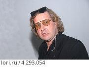 Купить «Режиссер,сценарист,писатель Александр Житинкин», фото № 4293054, снято 26 апреля 2007 г. (c) Александр С. Курбатов / Фотобанк Лори