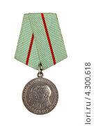 Купить «Медаль «Партизан Отечественной войны» 1-ой степени», фото № 4300618, снято 17 февраля 2013 г. (c) Nikolay Sukhorukov / Фотобанк Лори