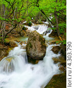Купить «Водопад», фото № 4303790, снято 25 марта 2019 г. (c) Евгений Валерьевич / Фотобанк Лори
