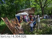 Купить «Праздник Троицы в Нижнем Новгороде», фото № 4304026, снято 2 июня 2012 г. (c) Igor Lijashkov / Фотобанк Лори