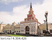 Купить «Казанский вокзал», эксклюзивное фото № 4304426, снято 3 июня 2010 г. (c) Алёшина Оксана / Фотобанк Лори