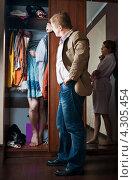 Купить «Любовник в шкафу», фото № 4305454, снято 19 февраля 2013 г. (c) Типляшина Евгения / Фотобанк Лори