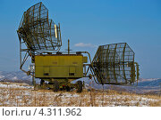 РЛС ПВО ВВС. Стоковое фото, фотограф Sergey  Kalabin / Фотобанк Лори
