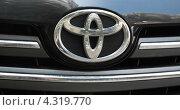 Купить «Фирменный знак Toyota», эксклюзивное фото № 4319770, снято 3 июня 2010 г. (c) Алёшина Оксана / Фотобанк Лори