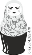 Матрёшка. Стоковая иллюстрация, иллюстратор Ксения Карташова / Фотобанк Лори