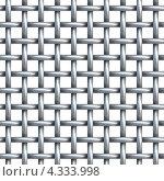Купить «Бесшовная текстура из металлической сетки», иллюстрация № 4333998 (c) Дмитрий Кутлаев / Фотобанк Лори