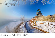 Купить «Памятник Салавату Юлаеву в Уфе — самая большая конная статуя в России», фото № 4343562, снято 21 декабря 2012 г. (c) Рамиль Юсупов / Фотобанк Лори