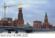Йошкар-Ола. Церковь Благовещения Пресвятой Богородицы (2012 год). Редакционное фото, фотограф Виктор Бартенев / Фотобанк Лори