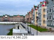 Йошкар-Ола, набережная Брюгге (2012 год). Стоковое фото, фотограф Виктор Бартенев / Фотобанк Лори